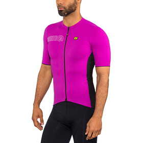 Alé Cycling Solid Color Block Maillot manches courtes Homme, cyclamen